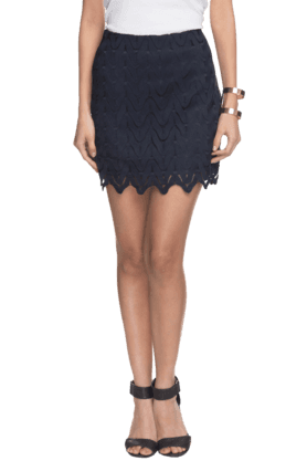 VERO MODA Women Straight Mini Skirt