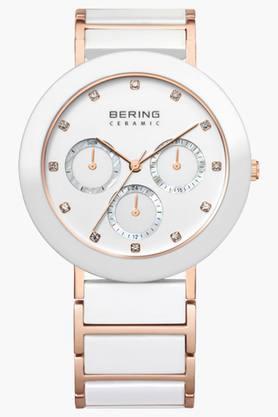BERINGUnisex Ceramic White Round Analogue Watch 11438-766