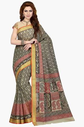 DEMARCA Women Cotton Blend Designer Saree - 202529102