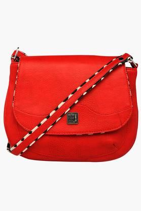 BE FOR BAG Womens Branna Zipper Closure Sling Bag