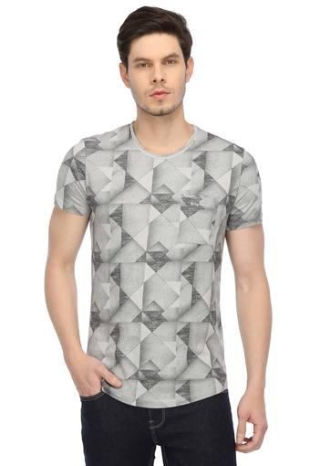 BEING HUMAN -  Light Grey T-shirts - Main