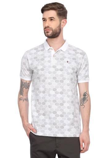 LOUIS PHILIPPE JEANS -  OliveT-shirts - Main