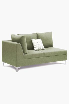 Spring Green Fabric Sectional Sofa (Lounger)