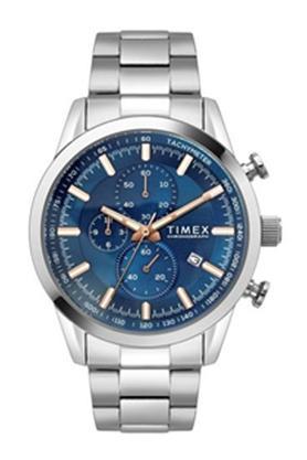 Mens Blue Dial Metallic Chronograph Watch - TWEG17604