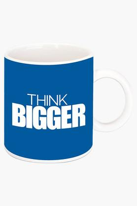 CRUDE AREA Think Bigger Printed Ceramic Coffee Mug  ...