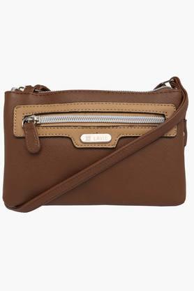 LAVIEWomens Dover Zipper Closure Sling Bag