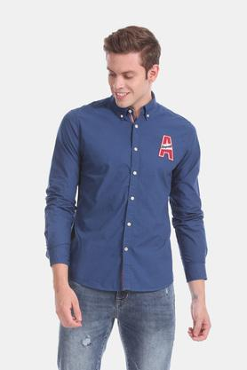 AEROPOSTALE - Blue Casual Shirts - Main