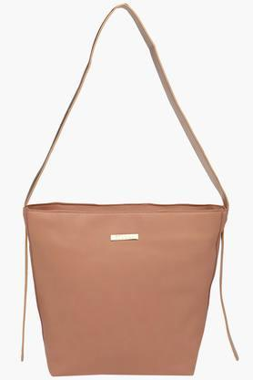 FEMINA FLAUNT Womens Synthetic Leather Zipper Closure Sling Bag