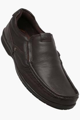 RED TAPEMens Leather Slip On Loafers