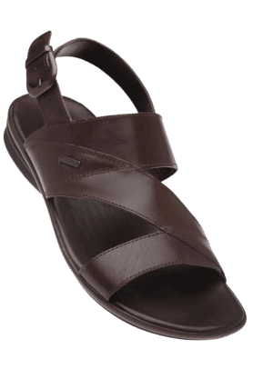 RED TAPE Mens Brown Casual Leather Sandal - 9766837