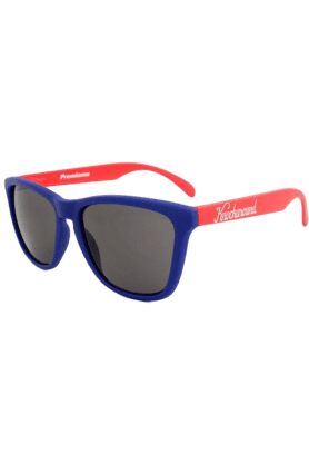 KNOCKAROUND Classic Premium Unisex Sunglasses Blue And Red-PRGL1064 (Use Code FB20 To Get 20% Off On Purchase Of Rs.1800)