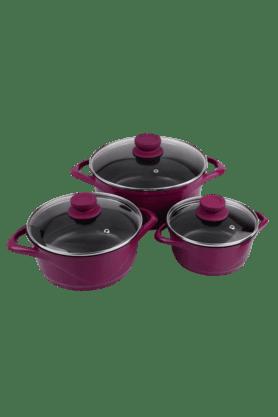 WONDERCHEFCeramide Casserole Set By Chef Sanjeev Kapoor (Set Of 6)