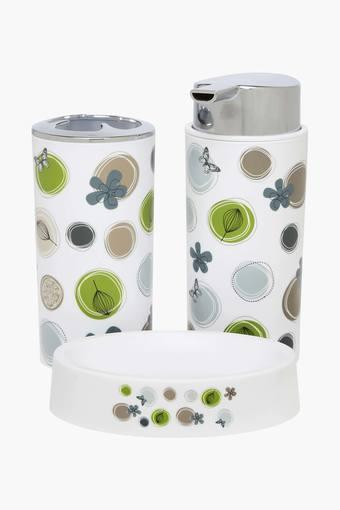 Printed Bath Set of 3