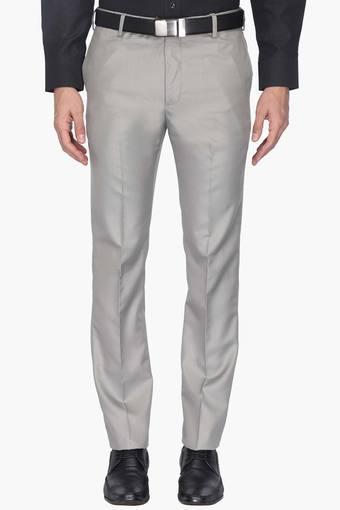 Mens 4 Pocket Slub Trouser