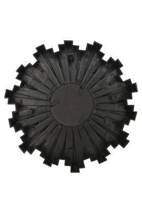 Round Sunflower Motif Decorative Mirror Set of 3