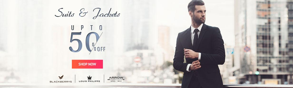 SUIT AND JACKETS OFFER