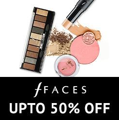 Faces Uptp 50% OFf
