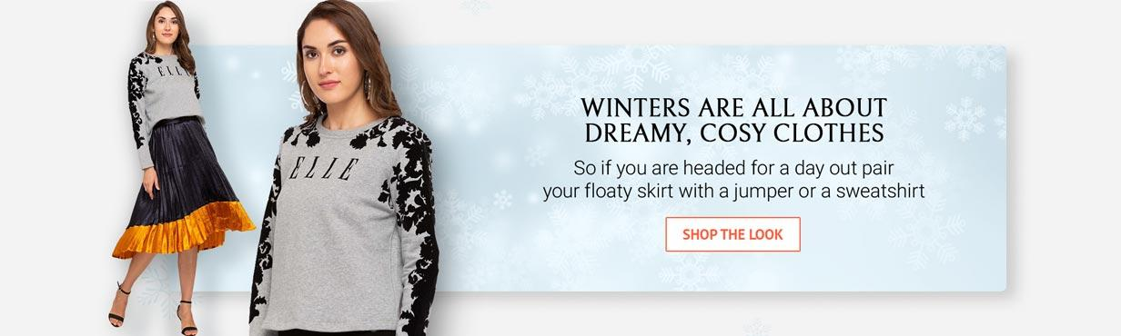 SHOP THE LOOK WINTER COSY CLOTHES