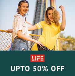 Life Upto 50% Off