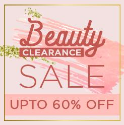beauty clearnce offer