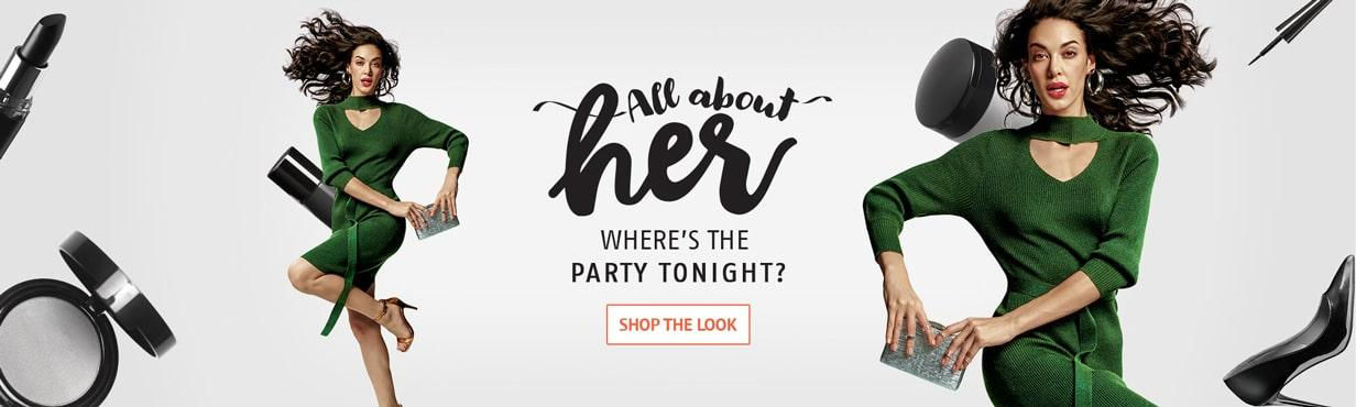 ALL ABOUT HER PARTY WEAR
