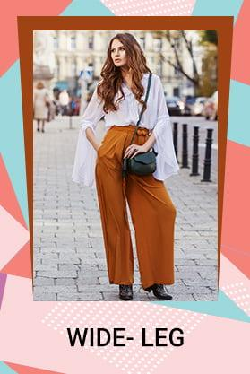 WIDE LEG PANTS OFFER