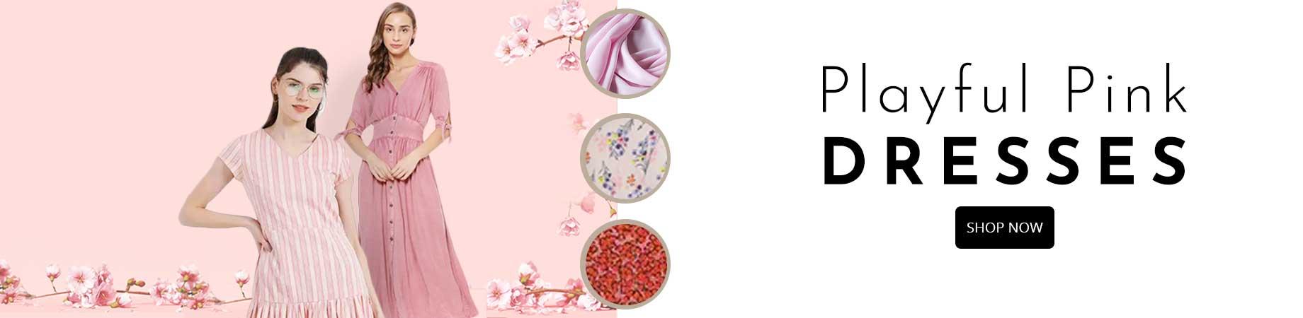 Pink-Dresses--