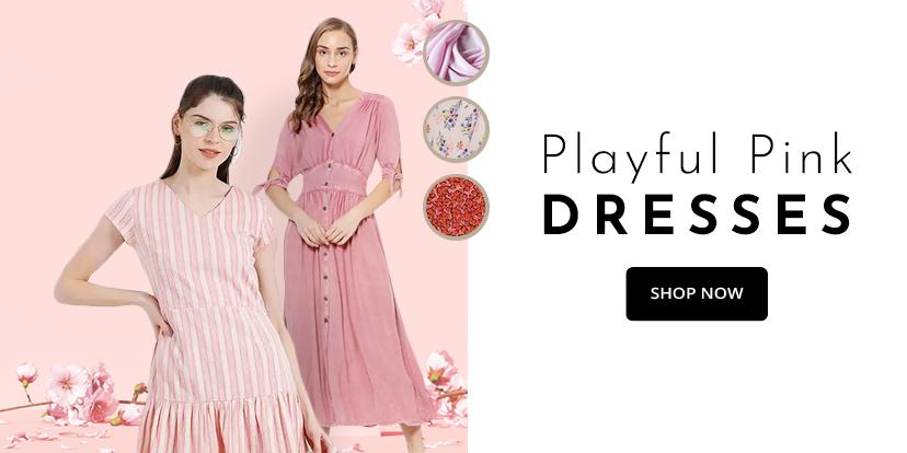 Pink-Dressesr-