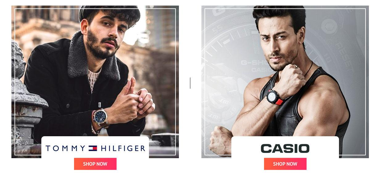 tommy hilfiger and casio offer