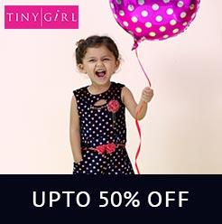 TINY GIRL UPTO 50% OFF