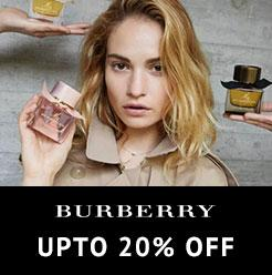 Buberry Upto 20% Off
