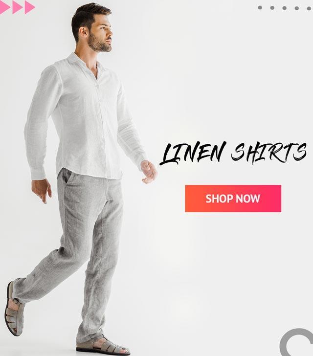 Linen Shirt Offer