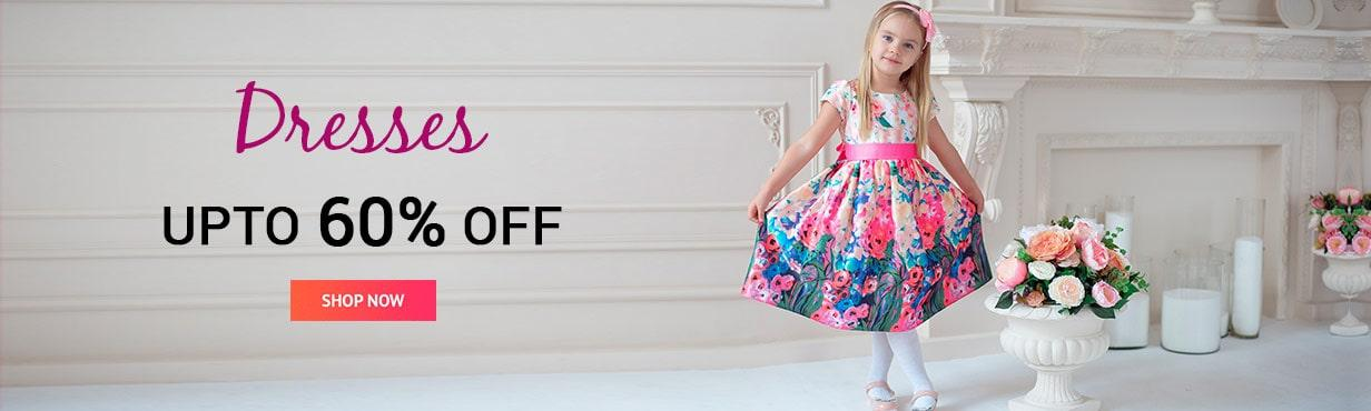 DRESSES UPTO 60% OFF