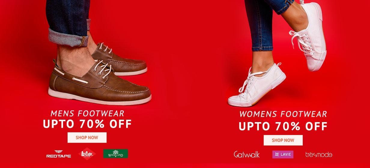 offers on Footwears