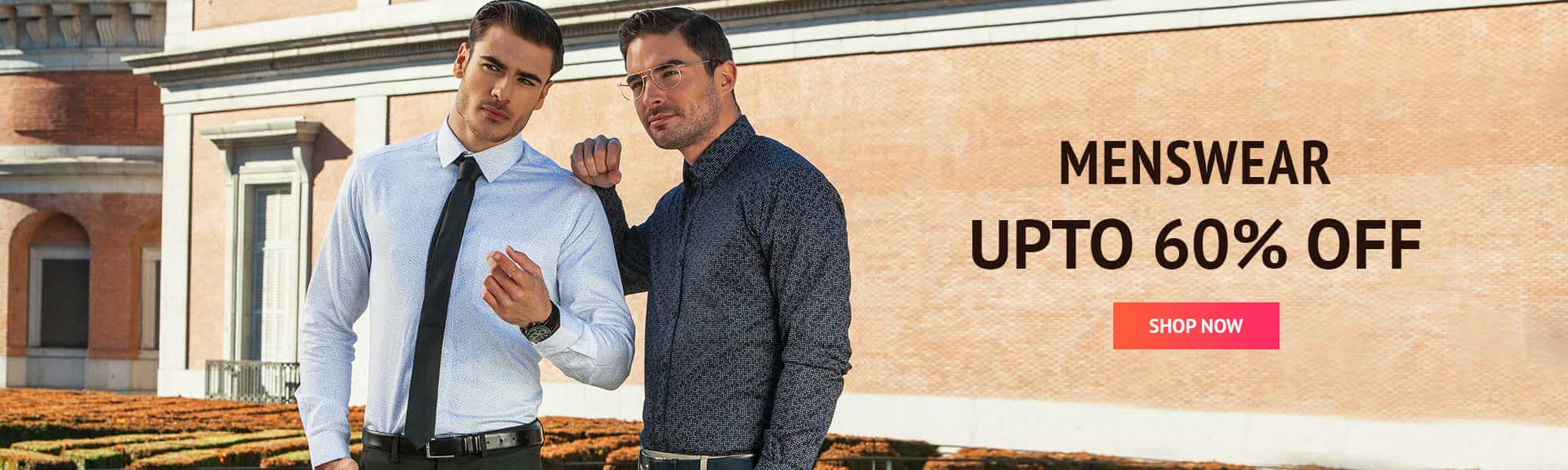 off on Men's Casual Shirts