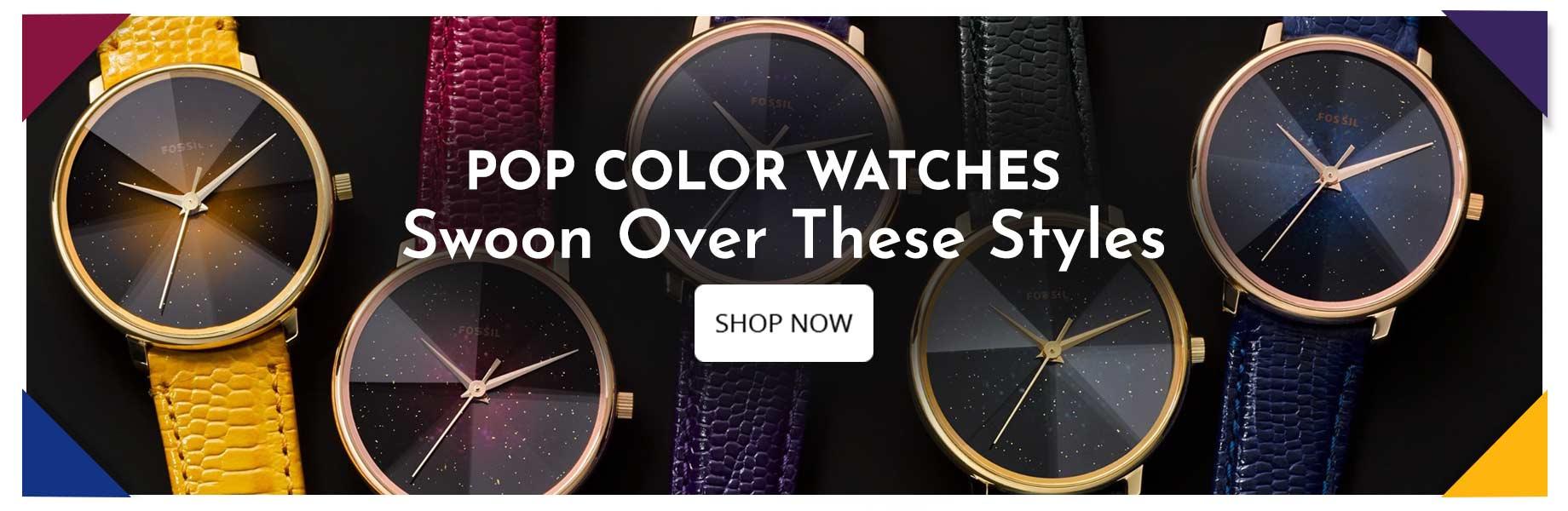 Pop-Colour-Watches