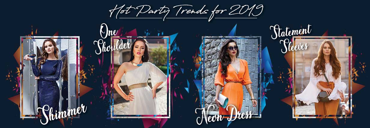 hot party trends for 2019