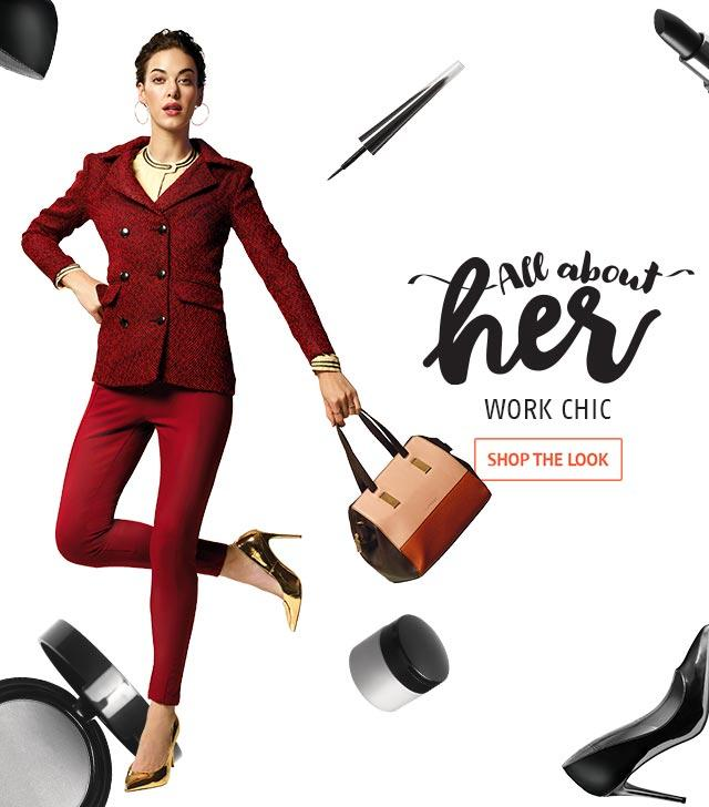 ALL THE HER WORK CHIC