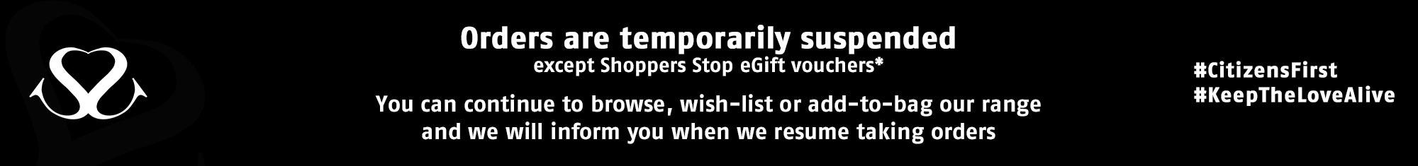 Temporarily Orders Suspended