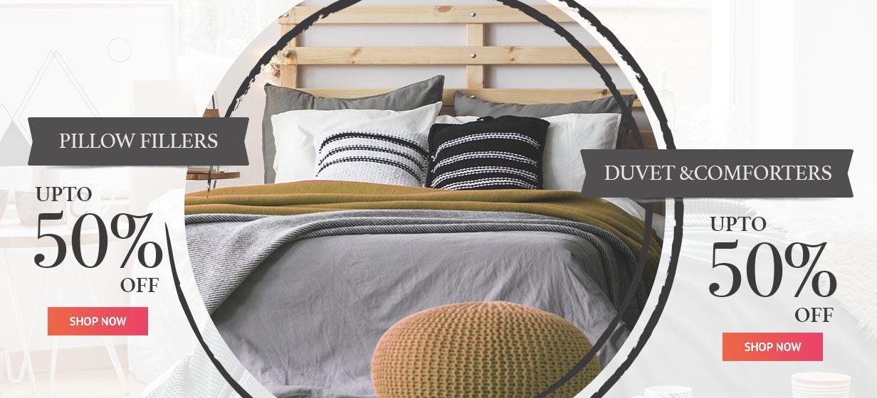 PillowFillers & DuvetComforters Offer