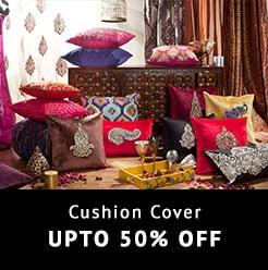 Cushion Cover Upto 50% Off