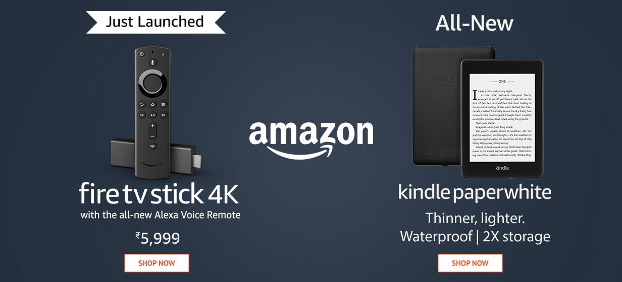 Amazon - firestick & Amazon - kindle