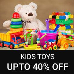 KIDS TOYS UPTO 40% OFF