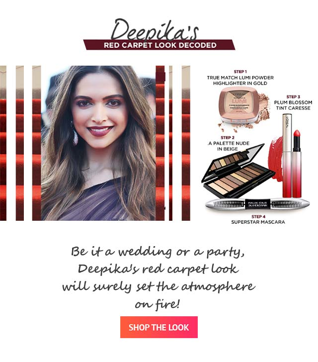 SHOP THE LOOK LOREAL