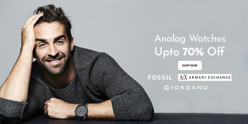 Analog Watches