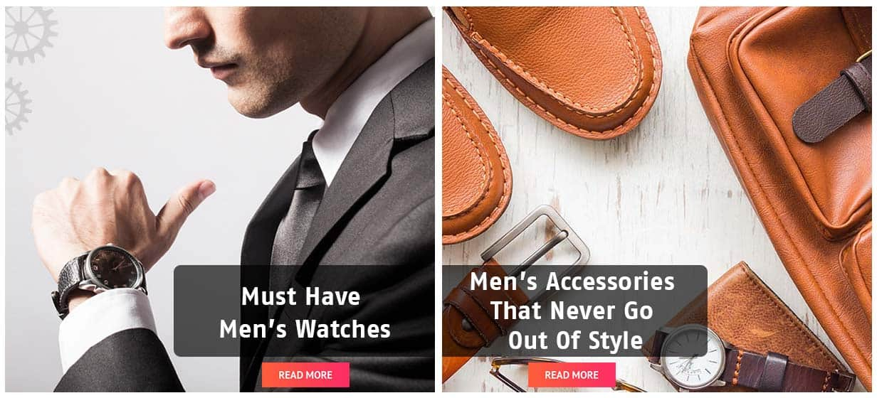 WATCHES & MENS ACCESSORIES OFFER