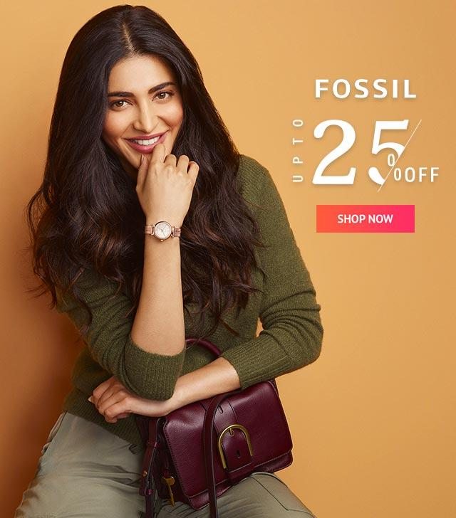 fossil offer