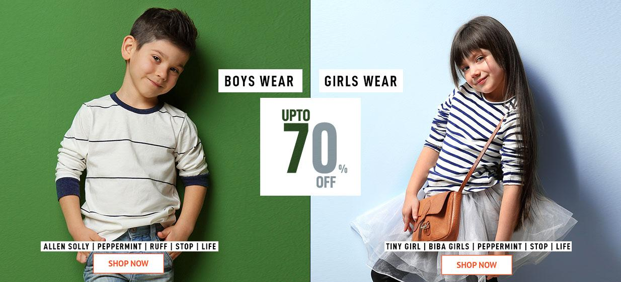 Boys wear And Girls Wear