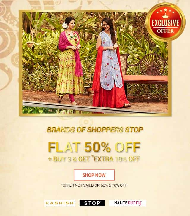 Exclusive Offer Brands Of Shoppers Stop