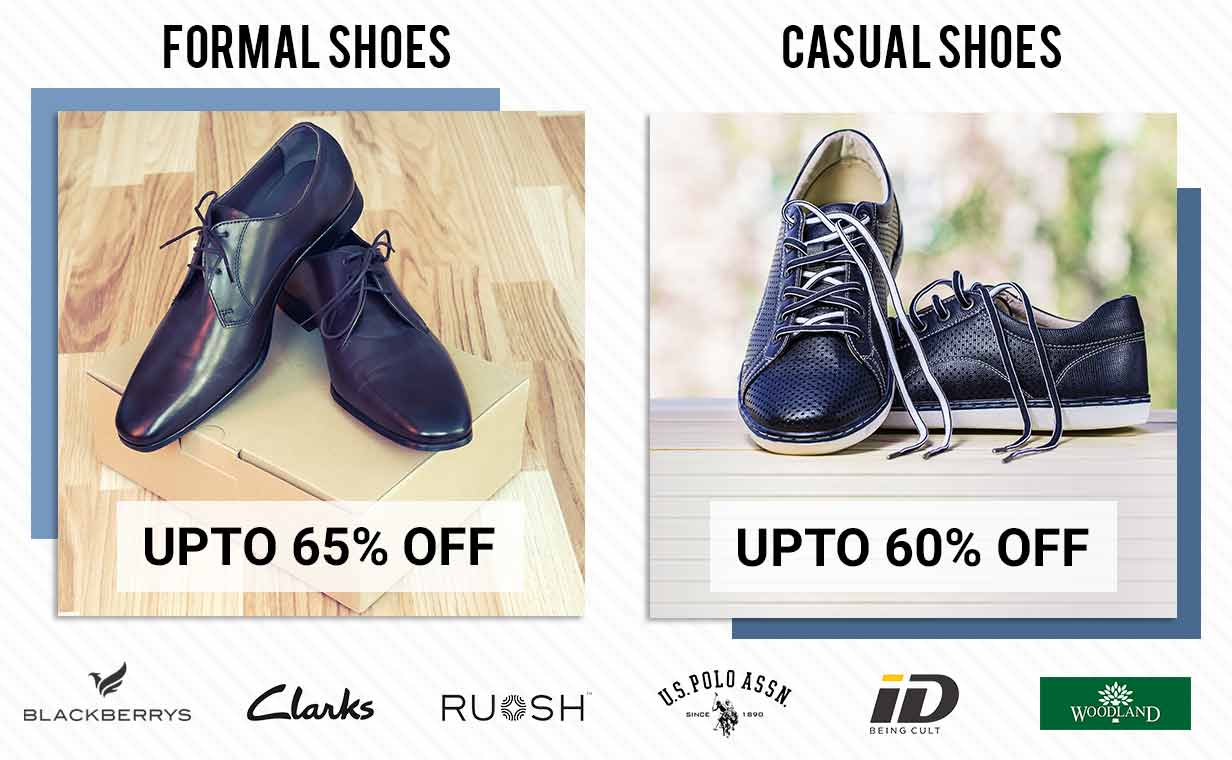 FORMAL SHOES & CASUAL SHOES OFFER